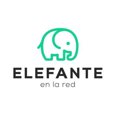 Elefante en la red
